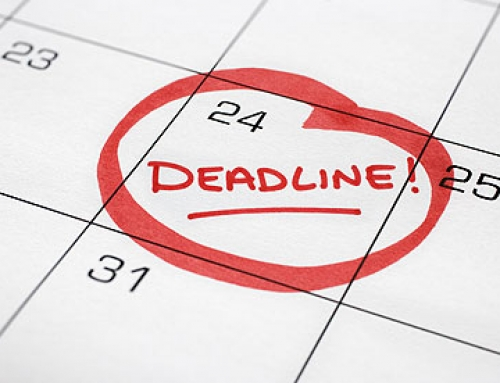 Late Deadlines for September 2019-January 2020