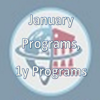 January & 1y MBA Programs